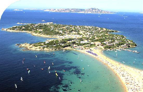 Isola dei Gabbiani - Land of Water : il campeggio