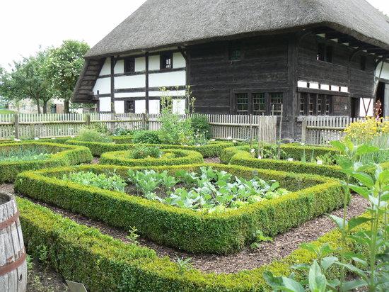 Baden Württemberg, Almanya: Garden at Kürnbach