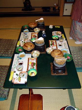 Hotel Senkei: Aperçu dîner Kaiseikei