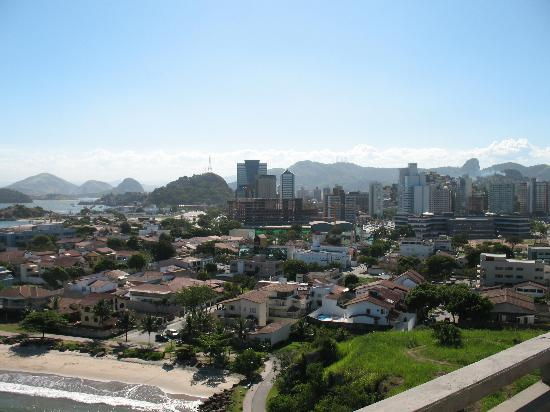 A view of Vitoria from the 3rd Point Bridge.