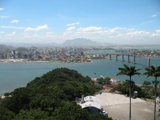 Vitoria from the Morro da Penha