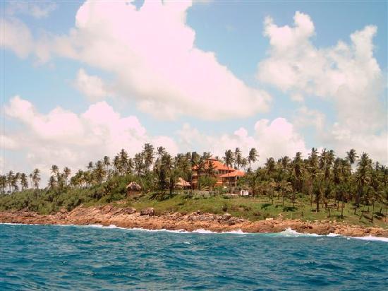 Tangalle, Sri Lanka: Vom Meer aus