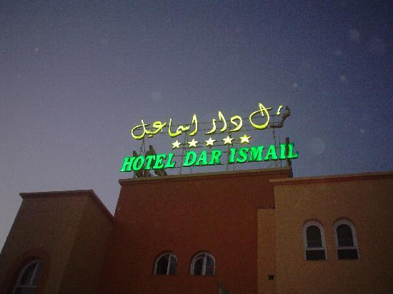 Hotel Dar Ismail: Insegna