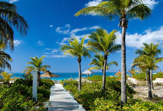 Providenciales: Beach roads...