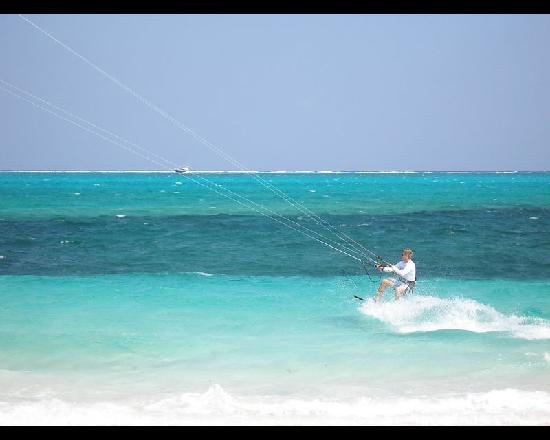 Providenciales: Paragsurfing