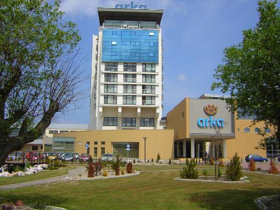 Arka Medical Spa: Der Haupteingang zum Hotel Arka