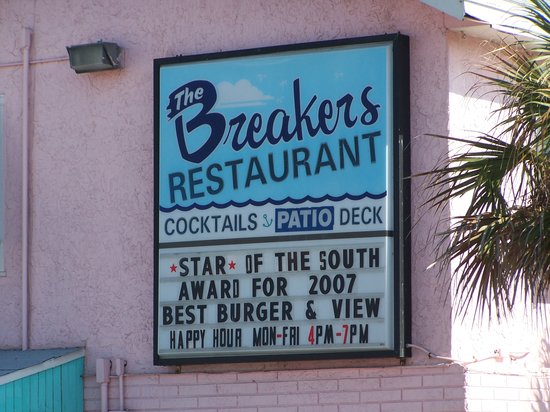 Photo of American Restaurant The Breakers Restaurant at 518 Flagler Ave, New Smyrna Beach, FL 32169, United States