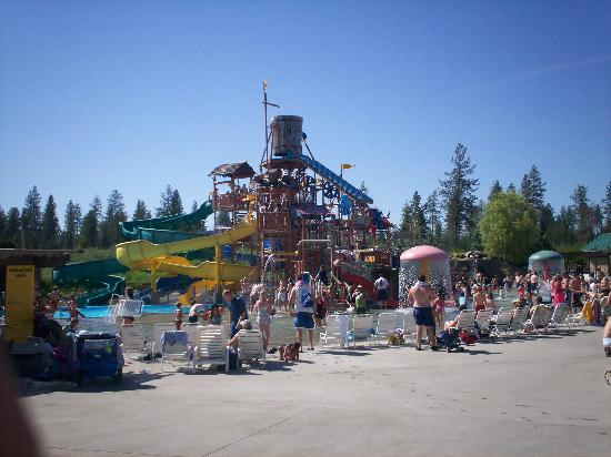 Silverwood Theme Park: If your kids are young, there's Polliwog Park