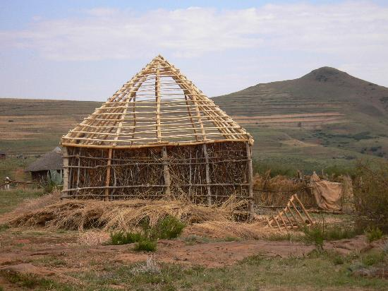 Lesotho: Traditional House