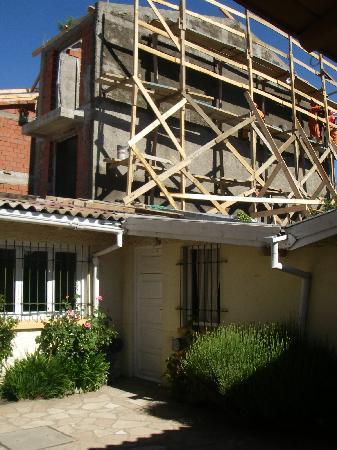La Barraca Hostel : Mighty quiet - that's our door in the corner