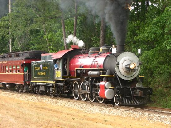 Rusk, TX: Steam Loco of the Texas State RR