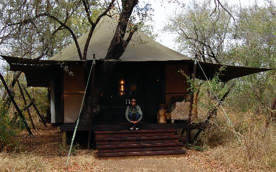 andBeyond Ngala Tented Camp: Our tent.