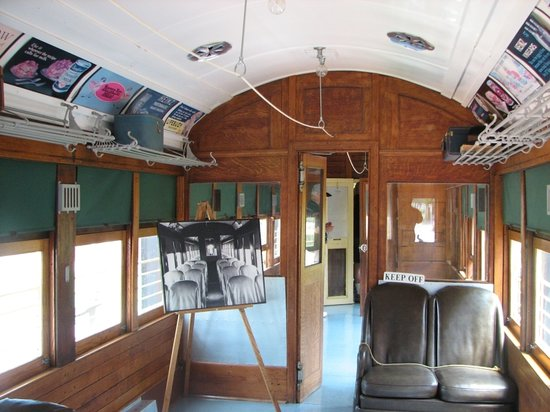 Interurban Railway Musuem: Interior
