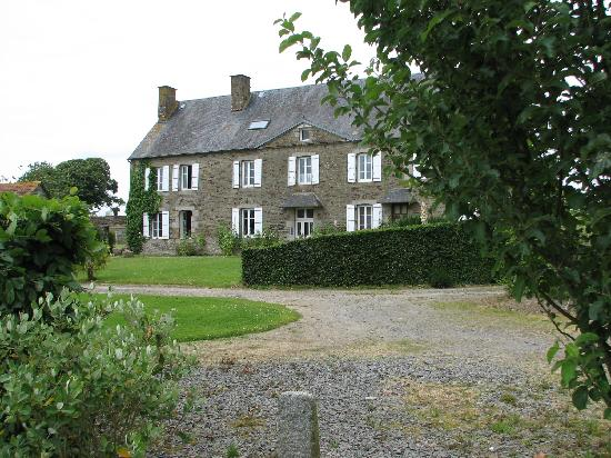 Juilley, France : The main house