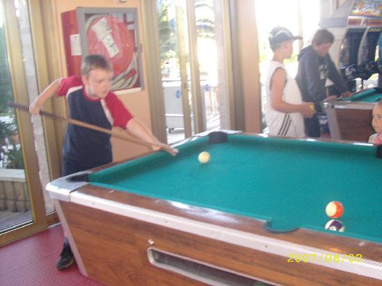 Hotel-Aparthotel Dorada Palace: Games Room