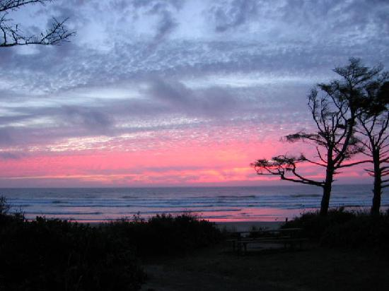 Cape Lookout State Park: Sunset on the Oregon coast