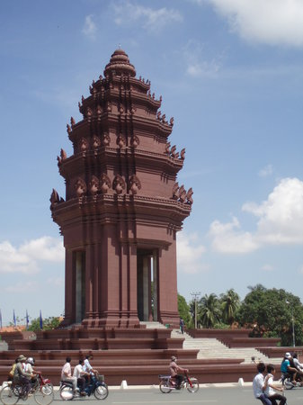 Phnom Penh, Cambodge : Independence Monument