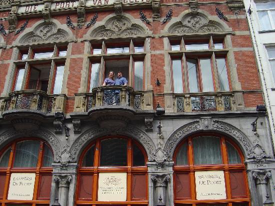 Very Small Balcony Picture Of Die Port Van Cleve