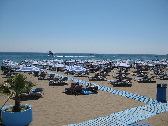 Hotel Athena: Falairaki beach
