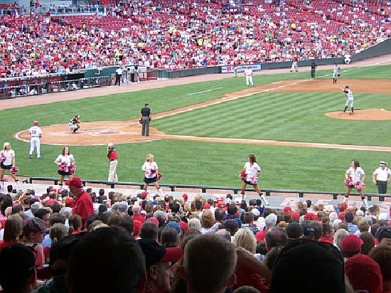 Great American Ball Park: View from sectgion 130