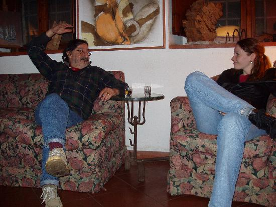 La Volpaia: Conversing with Andrea.