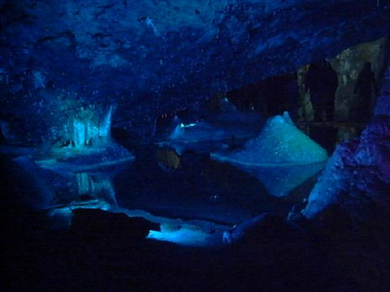 Wookey Hole, UK: First Chamber