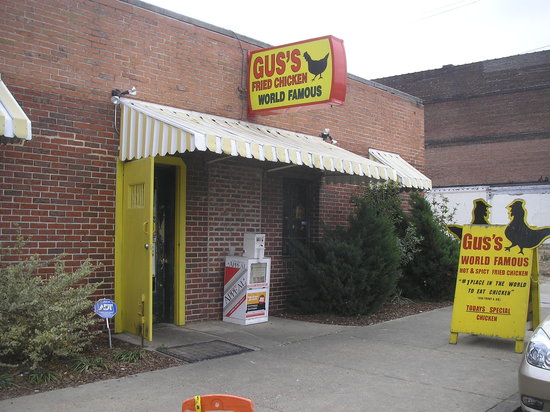 Gus S World Famous Fried Chicken Memphis 310 S Front St