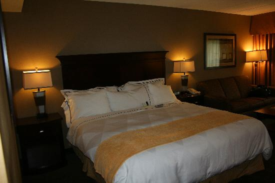 Radisson Nashua Hotel: King size room