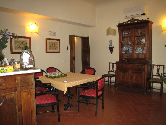 Relais Cavalcanti: The breakfast room