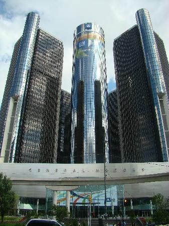 Gm renaissance center from jefferson picture of gm for General motors service center