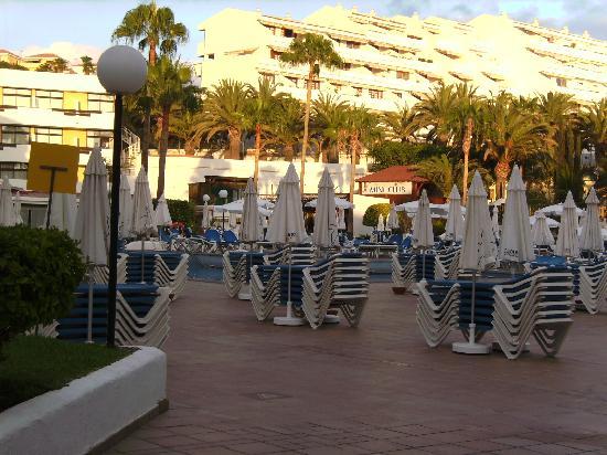 Iberostar Las Dalias: Vista de la piscina!!!