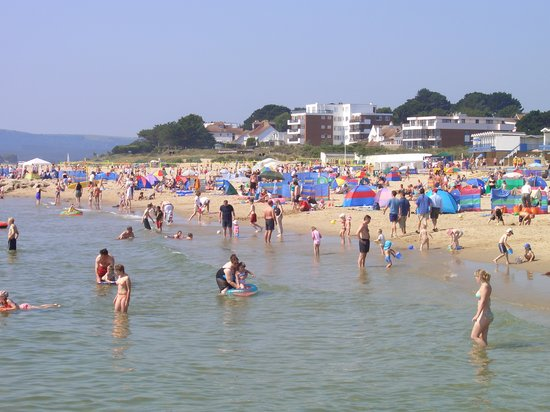 ‪‪Poole‬, UK: Sandbanks in Summer‬
