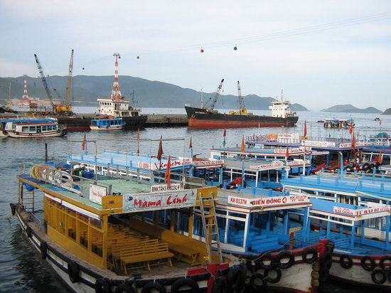 The Harbor of Nha Trang