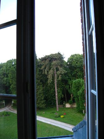 Chateau de Jonvilliers Bed & Breakfast: view from our window