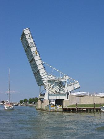 Bascule bridge, Tilghman Island, Maryland