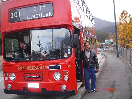 Tasmania, Australia: Redlight Circular route Bus