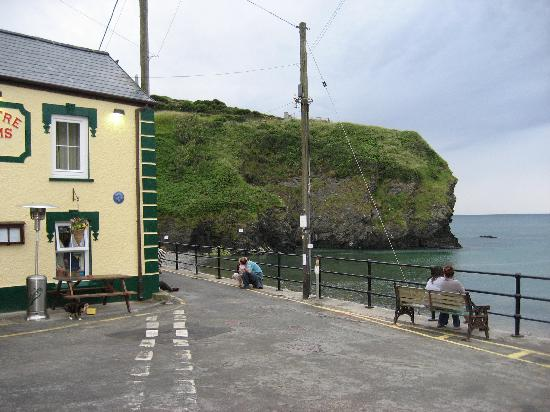 Llangrannog, UK: The Bay