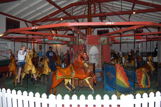 Flying Horses Carousel: Flying Horses
