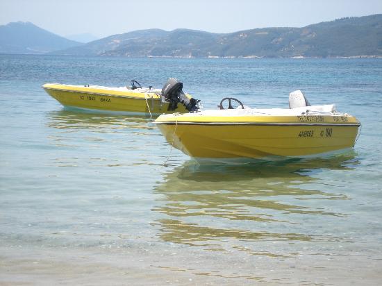 Villa Kim: Achladies boat hire