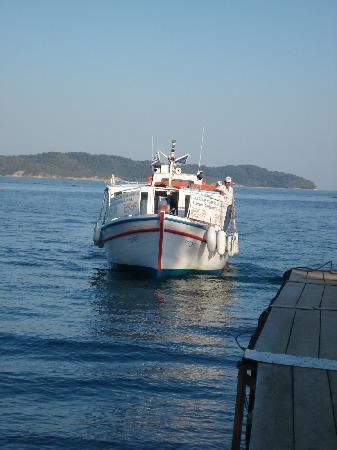 Villa Kim: Sea taxi