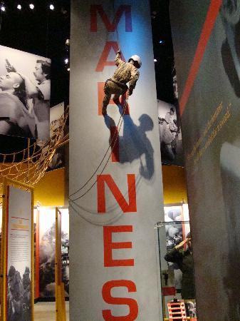 USMC Museum - Picture of National Museum of the Marine Corps ...