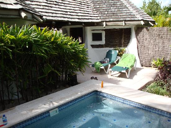Galley Bay Resort : our lovely accommodation