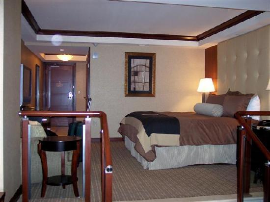 Ameristar Casino Resort Spa St. Charles: Sleeping area
