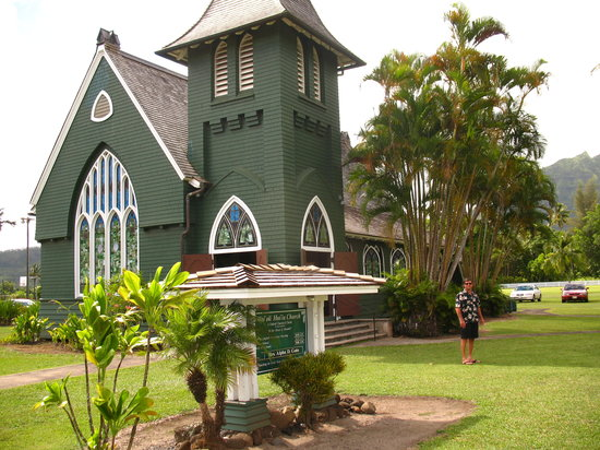 Sealodge at Princeville: Wai'oli Hui'ia Church in Hanalei