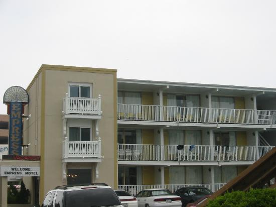 Motel Picture Of Empress Motel Ocean City Tripadvisor