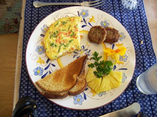 The Borland B&B and Brunch House Restaurant: Course #3 of the 3 course breakfast