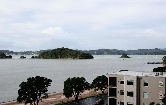 Blue Pacific Apartments Paihia : The veiw from our room