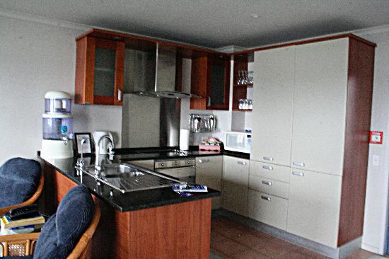 Blue Pacific Apartments Paihia : The excellent kitchen