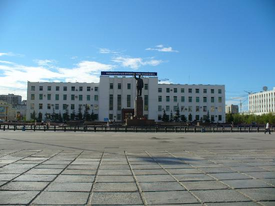 View from the Big Square in Irkutsk