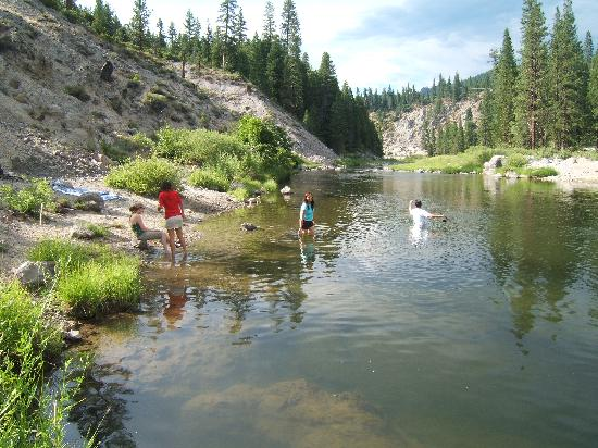 Camp Layman: Swimming hole